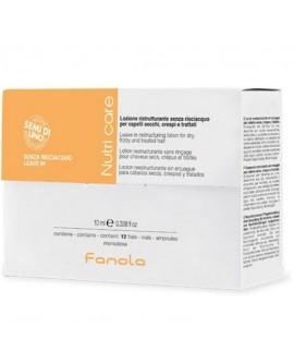 FANOLA NUTRI CARE AMPOLLAS RESTRUCTURANTE 12X10
