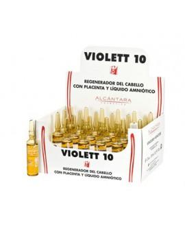 Ampollas Anticaida Violett 24 Uds x 10 Ml