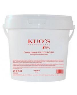 1.SPA01 Crema Masaje - Frutos Rojos - Kuo's